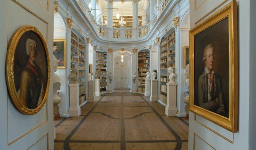 Rokokosaal der Anna-Amalia-Bibliothek (Foto: Maik Schuck © weimar GmbH)