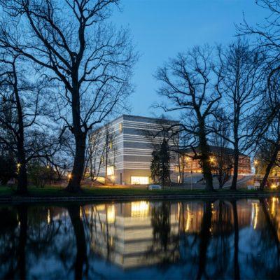 Bauhaus-Museum_Dämmerung_Foto Thomas Müller_©weimar GmbH
