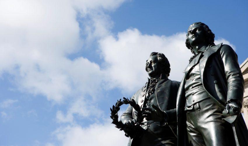 Goethe-Schiller-Denkmal (Foto: Guido Werner © weimar GmbH)