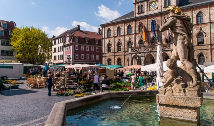 Marktplatz (Foto: Gert Lange © weimar GmbH)
